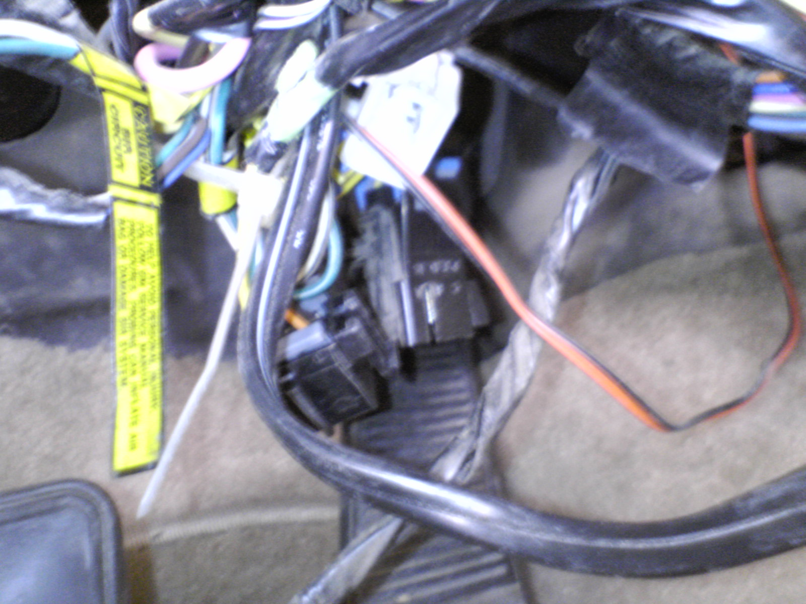 1995 Caprice Twilight Sentinel Install Ip Wiring Harness The Two Wires From Switch And One Headlight Into White Connector Matching Colors On
