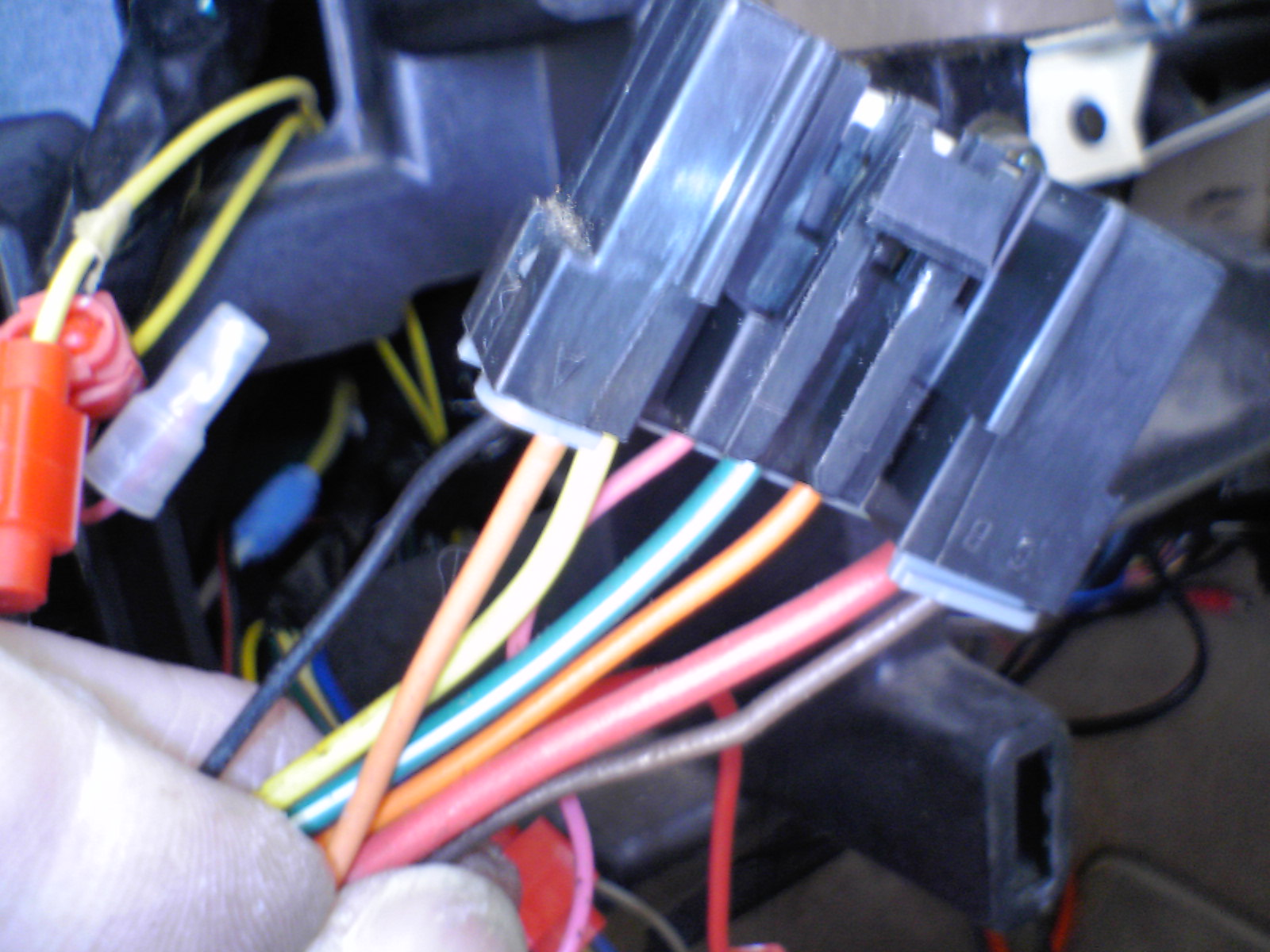 1995 Caprice Twilight Sentinel Install Was The Wiring I Salvaged From Previous Lamps Spliced Wire Black Switch Is Into Headlight Illumination Bulb Ground